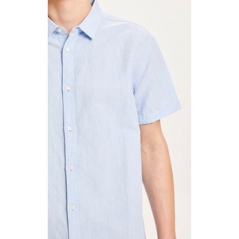LARCH SS linen shirt 1009 Skyway
