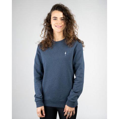 TreeSweater Unisex Navy Mel