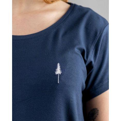 TreeShirt Loose Women Navy