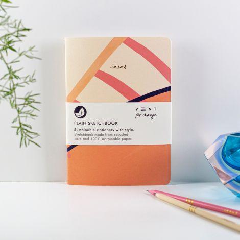 Skizzenbuch 'Ideas' A5 Plain - Pink