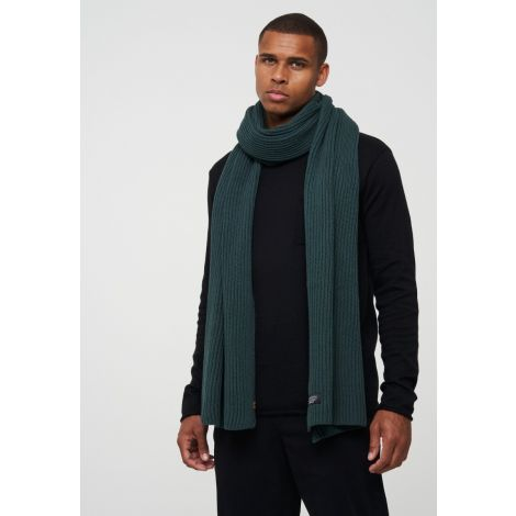 Scarf TULIP forest green