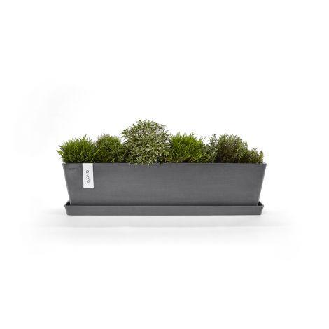 Saucer Bruges grey