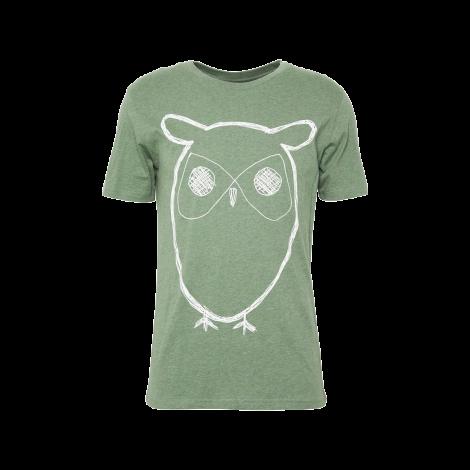 ALDER big owl tee 1232 Gren melange