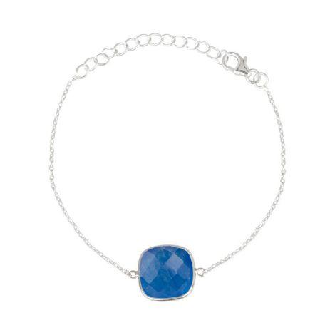 Rounded Square Bracelet Silver