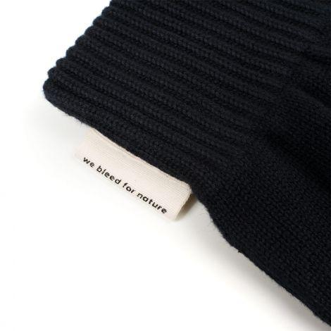 Ecoknit Mittens Black