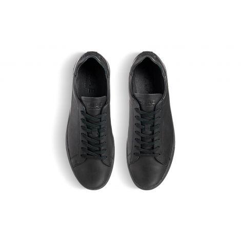 Bradley Triple Black Leather