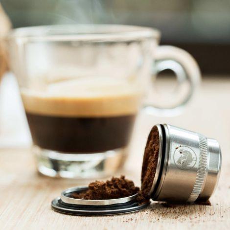 2er-Set wiederverwendbare Kaffeekapseln