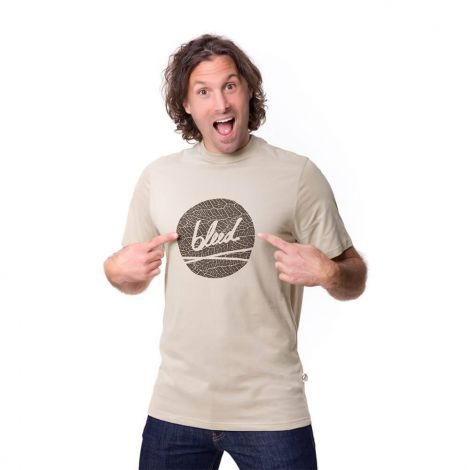 Dot Logo T-Shirt taupe