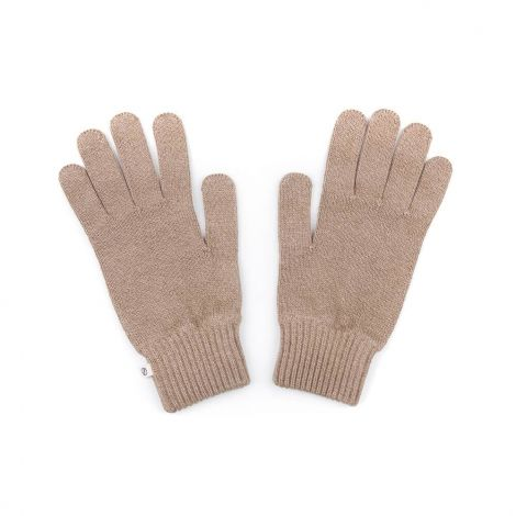 Eco Knitted Gloves taupe