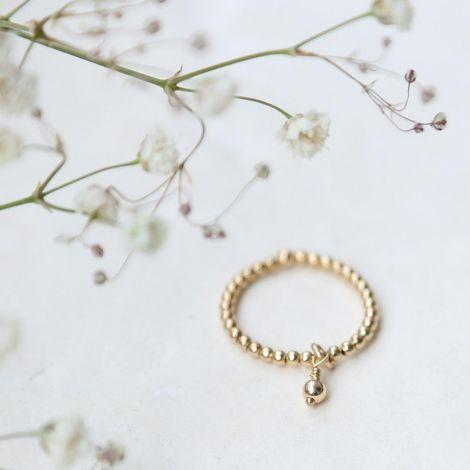 Epona Ring: Medium / Gold Filled / Normal