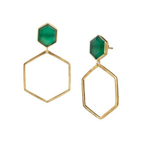 Hexagon on Hexagon Gold