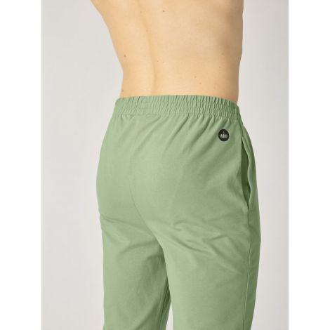 Organic Mens Yoga Pant Oil Green