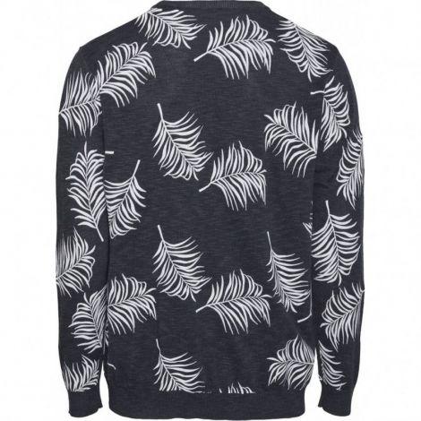 FORREST o-neck palm tencel knit 1001 Total Eclipse