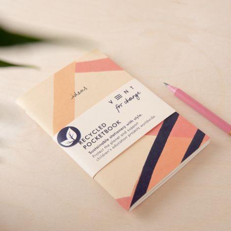 Skizzenbuch Taschenformat 'Ideas' Plain - Pink