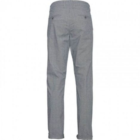 CHUCK regular checked chino 1001 Total Eclipse