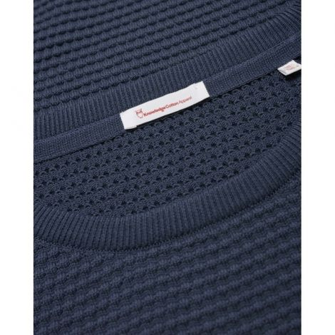 FIELD o-neck sailor knit - GOTS/Vegan 1001 Total Eclipse