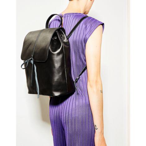 City Bag #Havn cotton grey black glam (vegan)