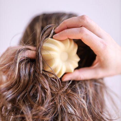 Fester Conditioner Vanille jeder Haartyp