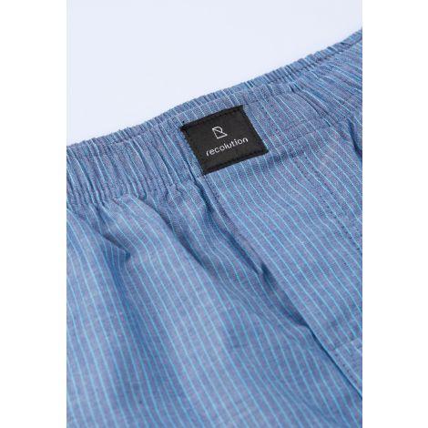 Boxershorts STRIPES blue striped