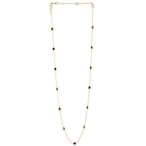 Small Dotted Chain Gold