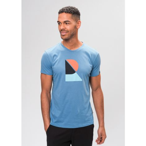Casual T-Shirt #RECO saphire blue
