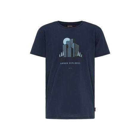 Casual T-Shirt #URBANEXPLORER navy