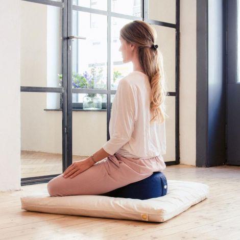 Meditationskissen Lotus (H: 15cm) Kornblume