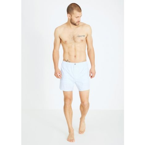 Boxershorts #STRIPES light blue/white