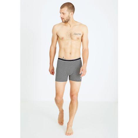 Boxerbriefs #STRIPES grey / black