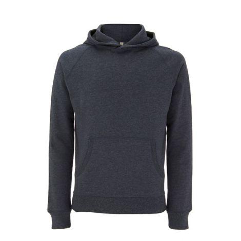 Pullover Hoody Melange Black