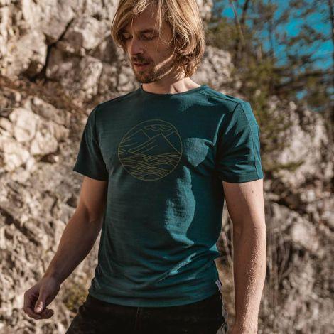 Super Active T-Shirt TENCEL green