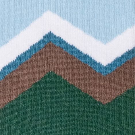 MOUNTAIN green Socks
