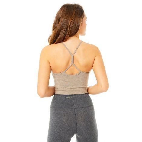 Basic Yoga Top silver lining