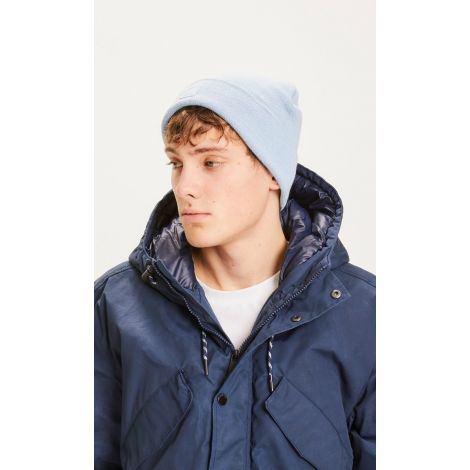 LEAF rib hat - GRS/Vegan 1335 - Blue Fog