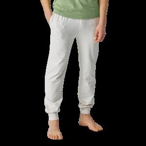 Organic Mens Yoga Pant Light Grey Marl