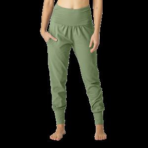 Organic Womens Yoga Pant Oil Green