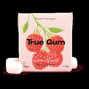 Natürliches Kaugummi Raspberry & Vanilla