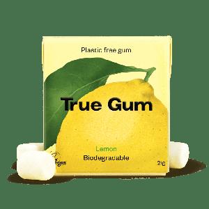 Natürliches Kaugummi Lemon