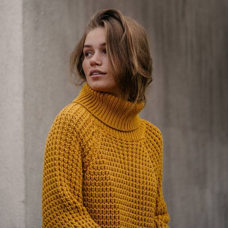 Sweater Oslo Golden Yellow