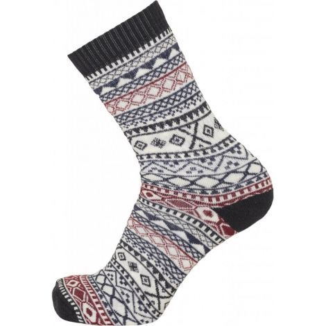 ACACIA pattern 1 pack wool sock Total Eclipse