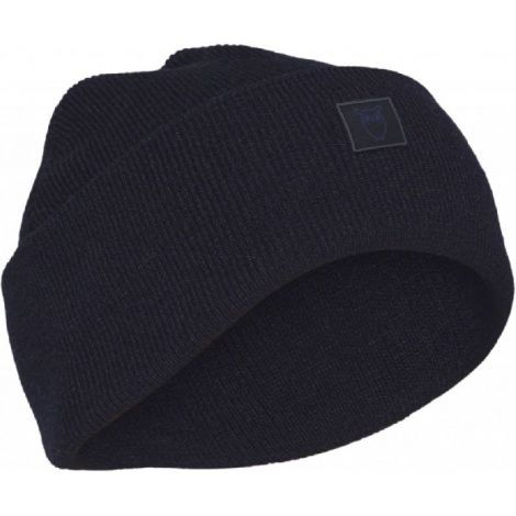 LEAF organic wool beanie Total Eclipse