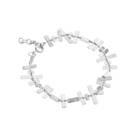 Rectangular brick bracelet