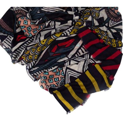 Printed Stoles African Flowers