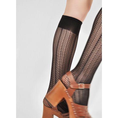 Astrid Fishnet Knee-High