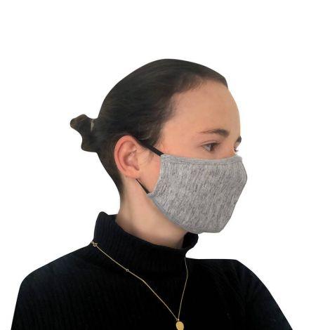 Behelfs-Gesichtsschutz Grey