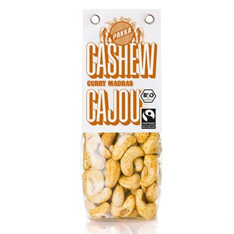 Cashew gerostet mit Curry Madras