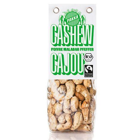 Cashew gerostet mit Malabar Pfeffer