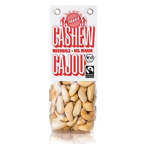 Cashew gerostet mit Meersalz