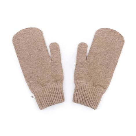 Eco Mittens taupe