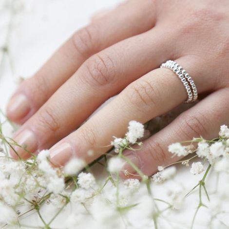 Eos Ring: Medium / Sterling Silver